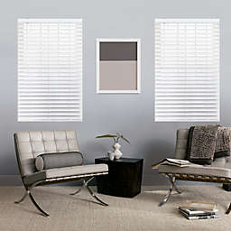 GLOWE   Cordless Faux Wood Blinds