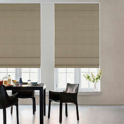 GLOWE   Cordless Fabric Roman Shade