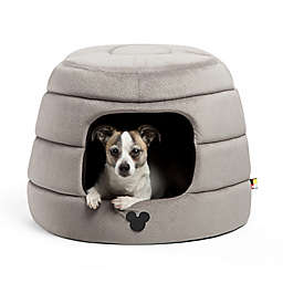 Disney® Mickey and Minnie Mouse 2-in-1 Honeycomb Hut Pet Beds