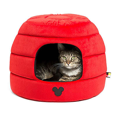 Disney® Mickey Mouse 2-in-1 Honeycomb Hut Pet Bed in Red
