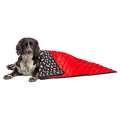 Disney® Mickey Mouse Pet Throw Blanket in Red/Black