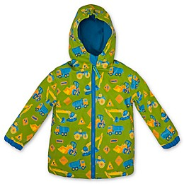 Stephen Joseph® Construction Raincoat in Green