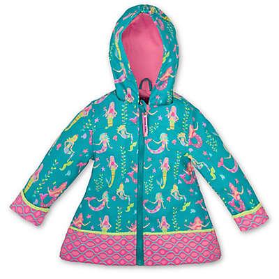 Stephen Joseph® Mermaid Raincoat in Teal