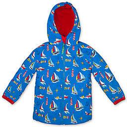 Stephen Joseph® Nautical Raincoat in Blue
