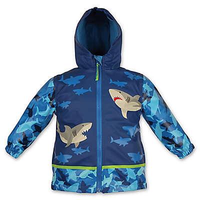 Stephen Joseph® Shark Raincoat in Blue