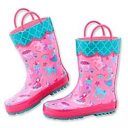 Stephen Joseph® Princess Rain Boot in Pink