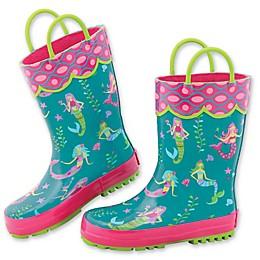 Stephen Joseph® Mermaid Rain Boot in Teal
