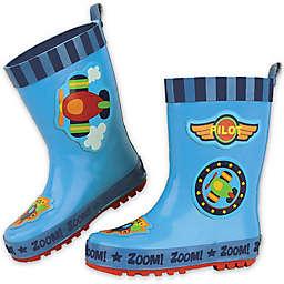 Stephen Joseph® Airplane Rain Boot in Blue
