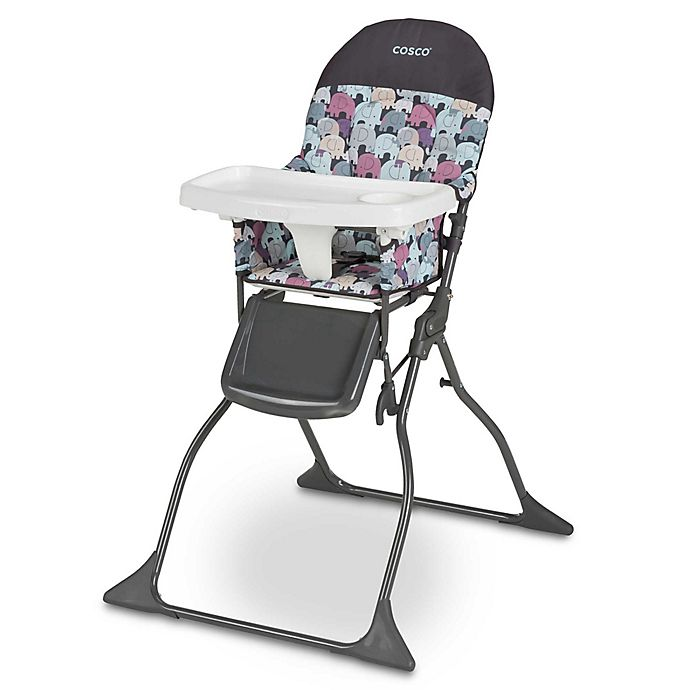 Alternate image 1 for Cosco® Simple Fold™ High Chair in Elephant Puzzle