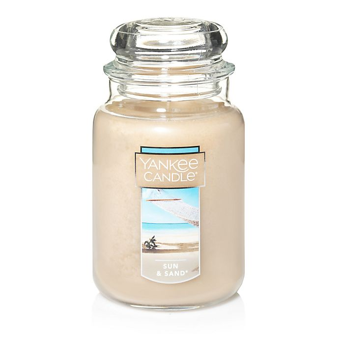 Alternate image 1 for Yankee Candle® Housewarmer® Sun & Sand™ Large Classic Jar Candle