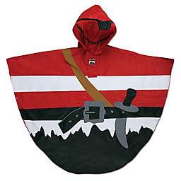 Stephen Joseph® Size 4-7 Pirate Rain Poncho in Red