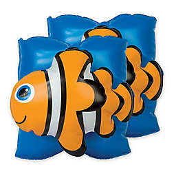 Stephen Joseph® Fish Water Wings in Orange
