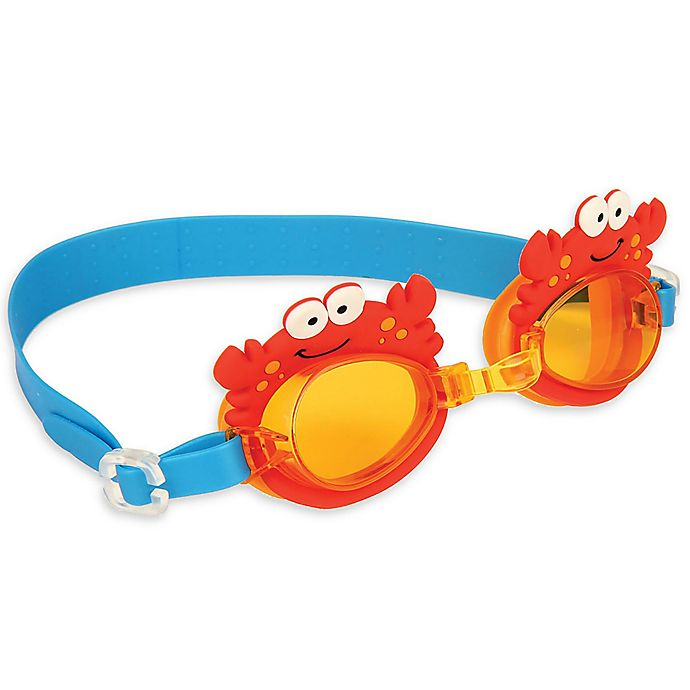 Alternate image 1 for Stephen Joseph® Crab Swim Goggles with Carry Case