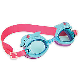 Stephen Joseph® Dolphin Swim Goggles with Carry Case