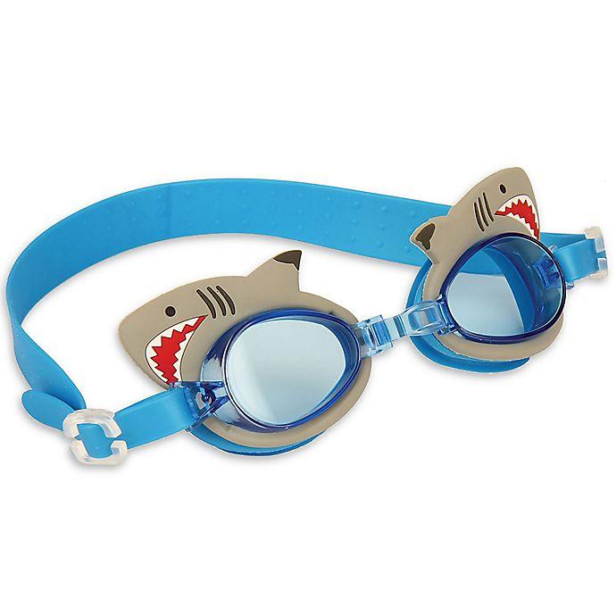 Alternate image 1 for Stephen Joseph® Shark Swim Goggles with Carry Case