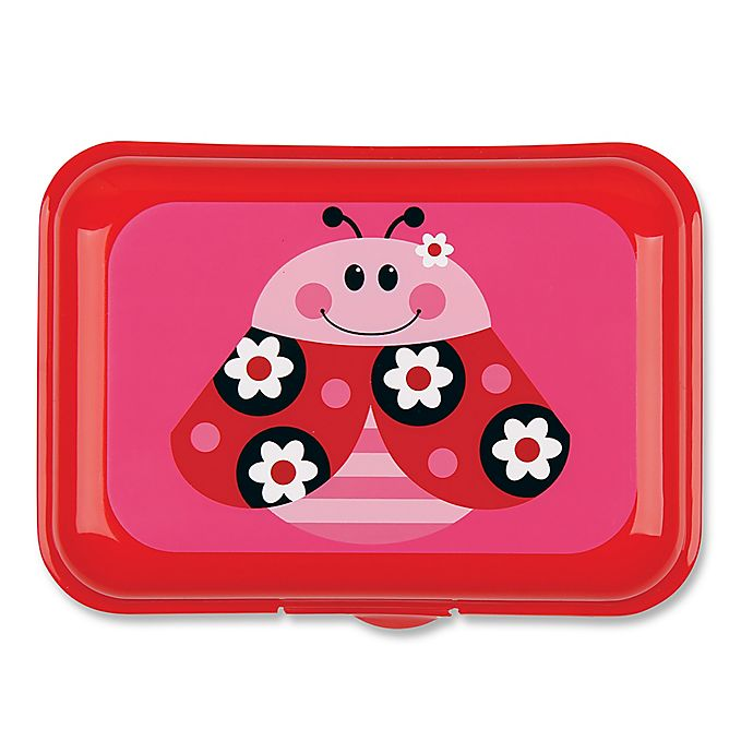 Alternate image 1 for Stephen Joseph® 64-oz. Ladybug Snack Box in Red