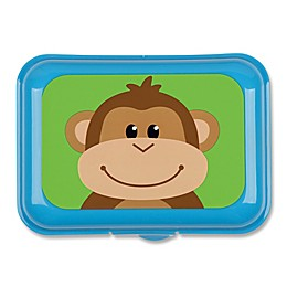 Stephen Joseph® 64-oz. Monkey Snack Box in Blue