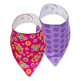 Stephen Joseph® Butterfly Bibs (Set of 2)