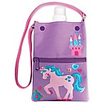 Stephen Joseph® Unicorn Water Bottle Tote in Purple