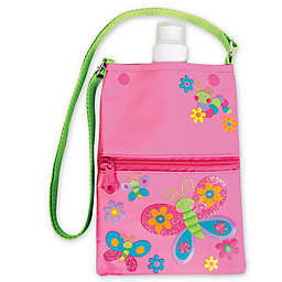 Stephen Joseph® Butterfly Water Bottle Tote in Pink