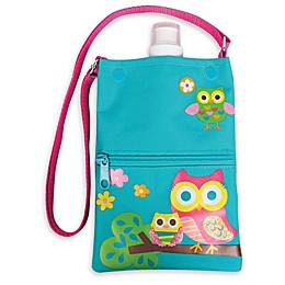 Stephen Joseph® Owl Water Bottle Tote in Teal