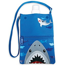 Stephen Joseph® Shark Water Bottle Tote in Blue