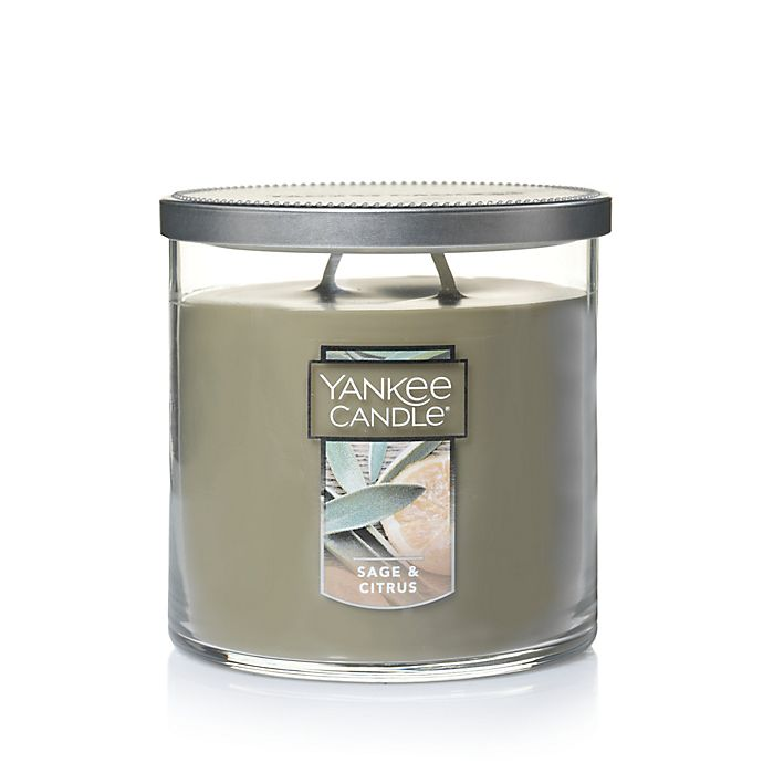 Alternate image 1 for Yankee Candle® Sage & Citrus Medium Tumbler Candle