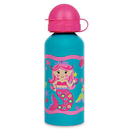 Stephen Joseph® 13.5 oz. Mermaid Water Bottle Tote in Teal