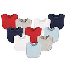 Luvable Friends® 10-Pack Drooler Bibs
