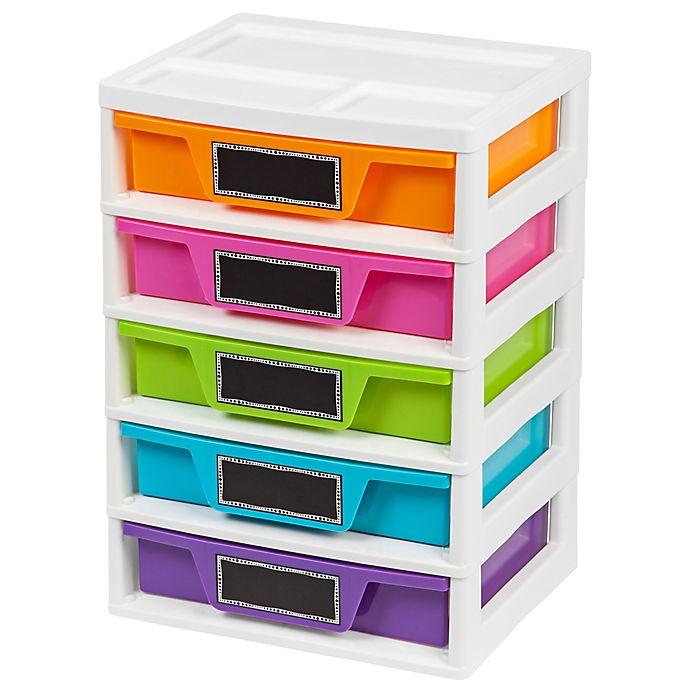 Iris 174 5 Drawer Storage And Organizer Chests Set Of 2