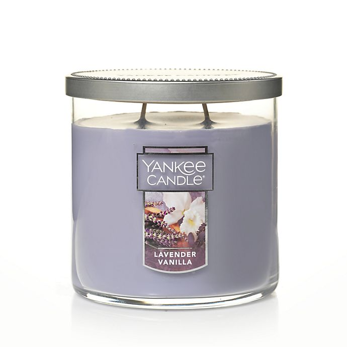 Alternate image 1 for Yankee Candle® Housewarmer® Lavender Vanilla Medium 2-Wick Tumbler Candle