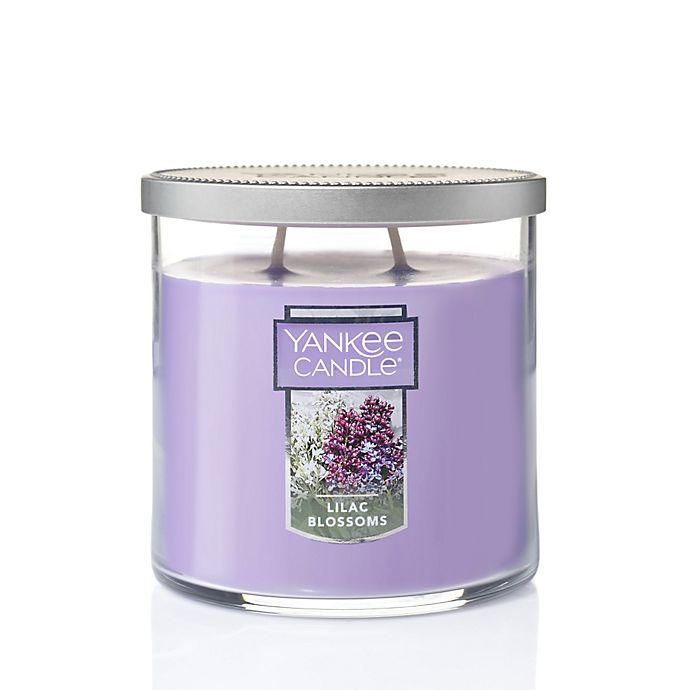 Alternate image 1 for Yankee Candle® Lilac Blossoms Medium 2-Wick Tumbler Candle