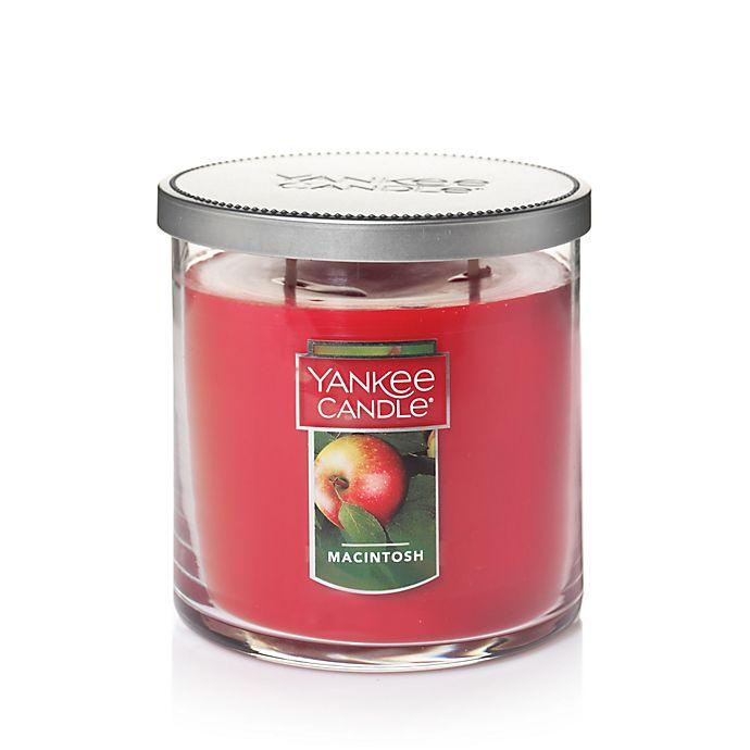 Alternate image 1 for Yankee Candle® Housewarmer® Macintosh Medium Lidded Candle Tumbler