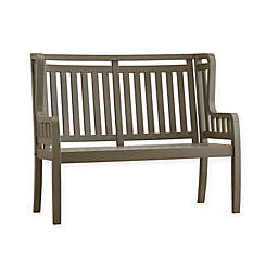 Verona Home Altura Wingback Side Garden Bench