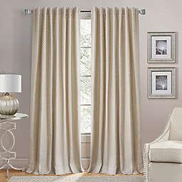 Lorenzo Back Tab Window Curtain Panel (Single)