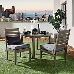 Verona Home Pacific Grove Outdoor Dining Side Chairs (Set of 2)
