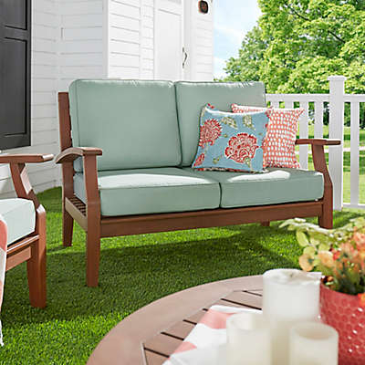 Verona Home Pacific Grove Outdoor Loveseat with Cushion