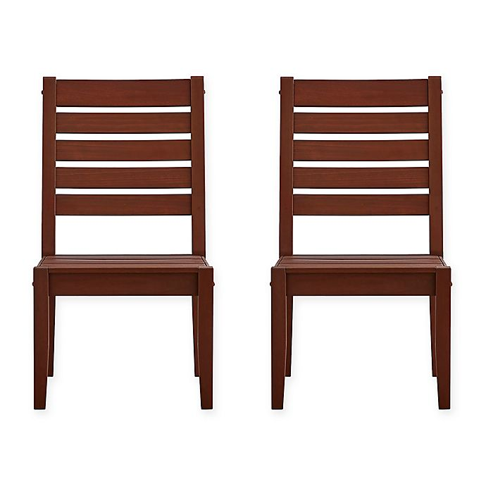 Alternate image 1 for Verona Home Pacific Grove Outdoor Dining Chairs (Set of 2)