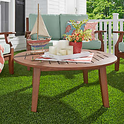 Verona Home Pacific Grove Outdoor Round Cocktail Table
