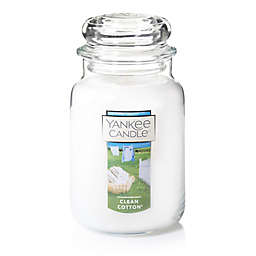 Yankee Candle® Housewarmer® Clean Cotton® Large Classic Jar Candle