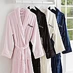 Classic Comfort Embroidered Name Luxury Fleece Robe