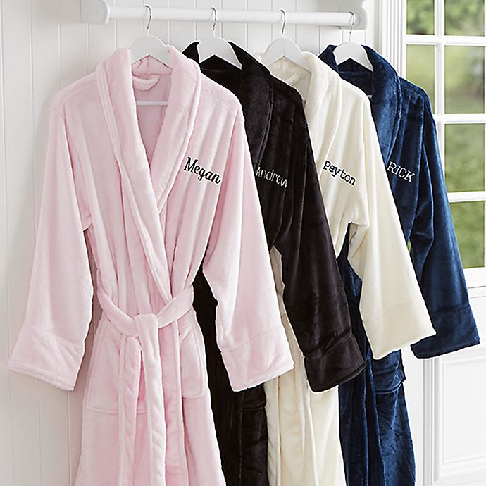 Alternate image 1 for Classic Comfort Luxury Fleece Robe