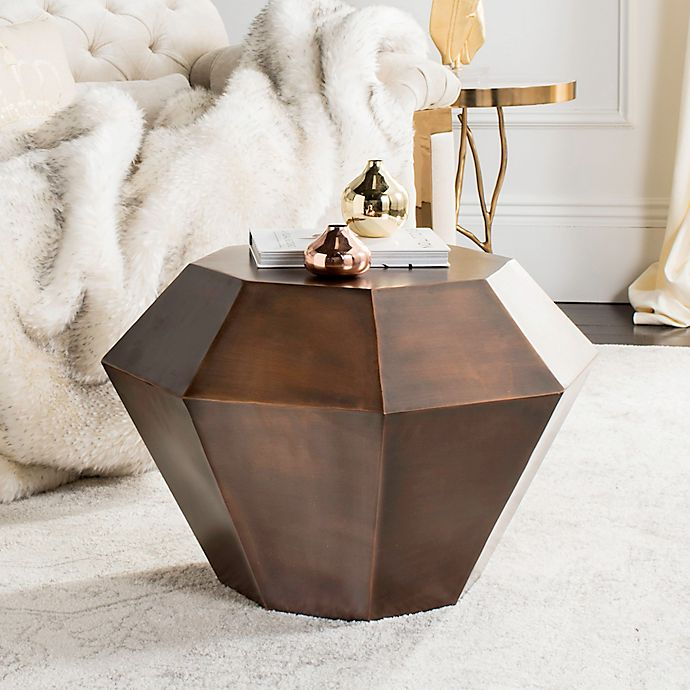 Alternate image 1 for Safavieh Grace Accent Table in Antique Copper