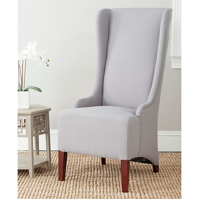 Peachy Safavieh Becall Dining Chair In Arctic Grey Bed Bath Beyond Unemploymentrelief Wooden Chair Designs For Living Room Unemploymentrelieforg