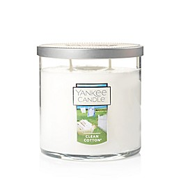 Yankee Candle® Housewarmer® Clean Cotton® Medium 2-Wick Tumbler Candle