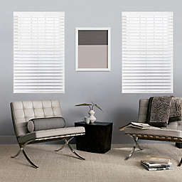 GLOWE   Custom Cordless Classic Wood Blinds