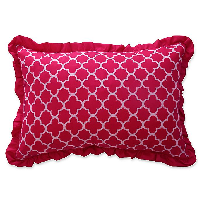 Alternate image 1 for Waverly Kids Reverie Oblong Throw Pillow in Pink