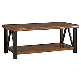 iNSPIRE Q® Ridley Live Edge Rustic Cocktail Table