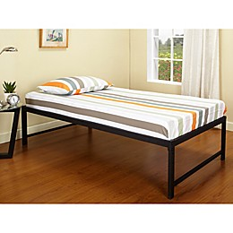 K&B Furniture Hi-Riser Metal Platform Bed