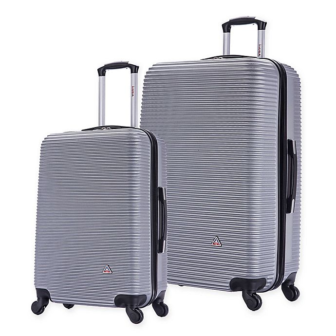Alternate image 1 for InUSA Royal Hardside Spinner Checked Luggage